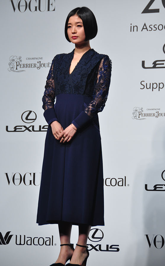 「VOGUE JAPAN Women of the Year 2015」授賞式