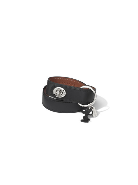 Snoopy Leather Turnlock Bracelet 3万3,000円