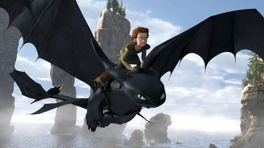『ヒックとドラゴン』 -(C) 2009 by PARAMOUNT PICTURES. All Rights Reserved.