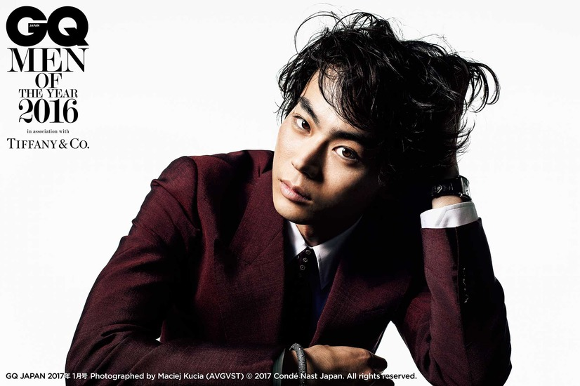 菅田将暉(GQ MEN OF THE YEAR 2016)/「GQ JAPAN」1月号