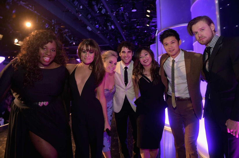 「glee」キャスト陣(C)Getty Images