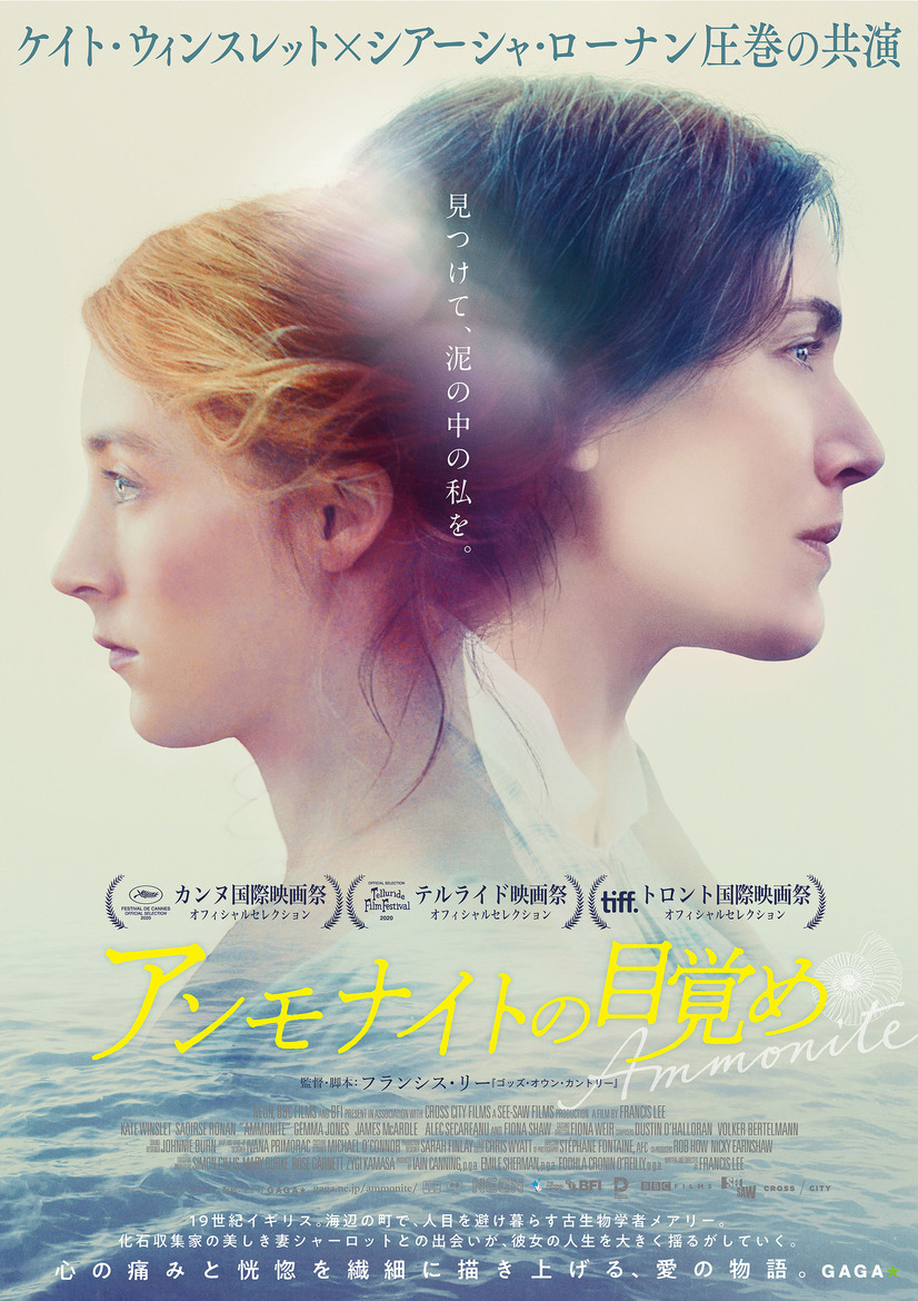 『アンモナイトの目覚め』 (C)The British Film Institute, The British Broadcasting Corporation & Fossil Films Limited 2019