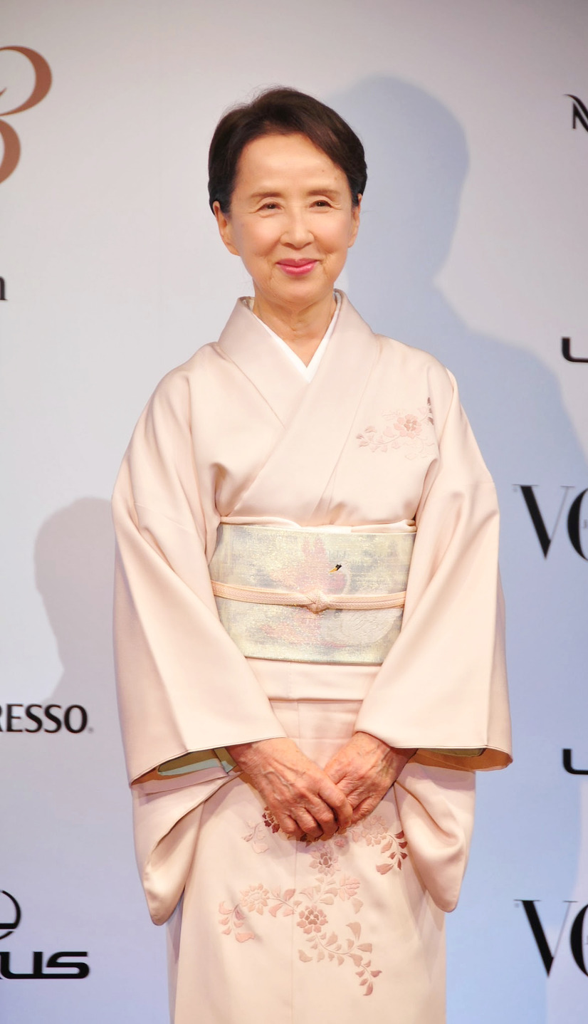 「VOGUE JAPAN Women of the Year 2013」授賞式(八千草薫)