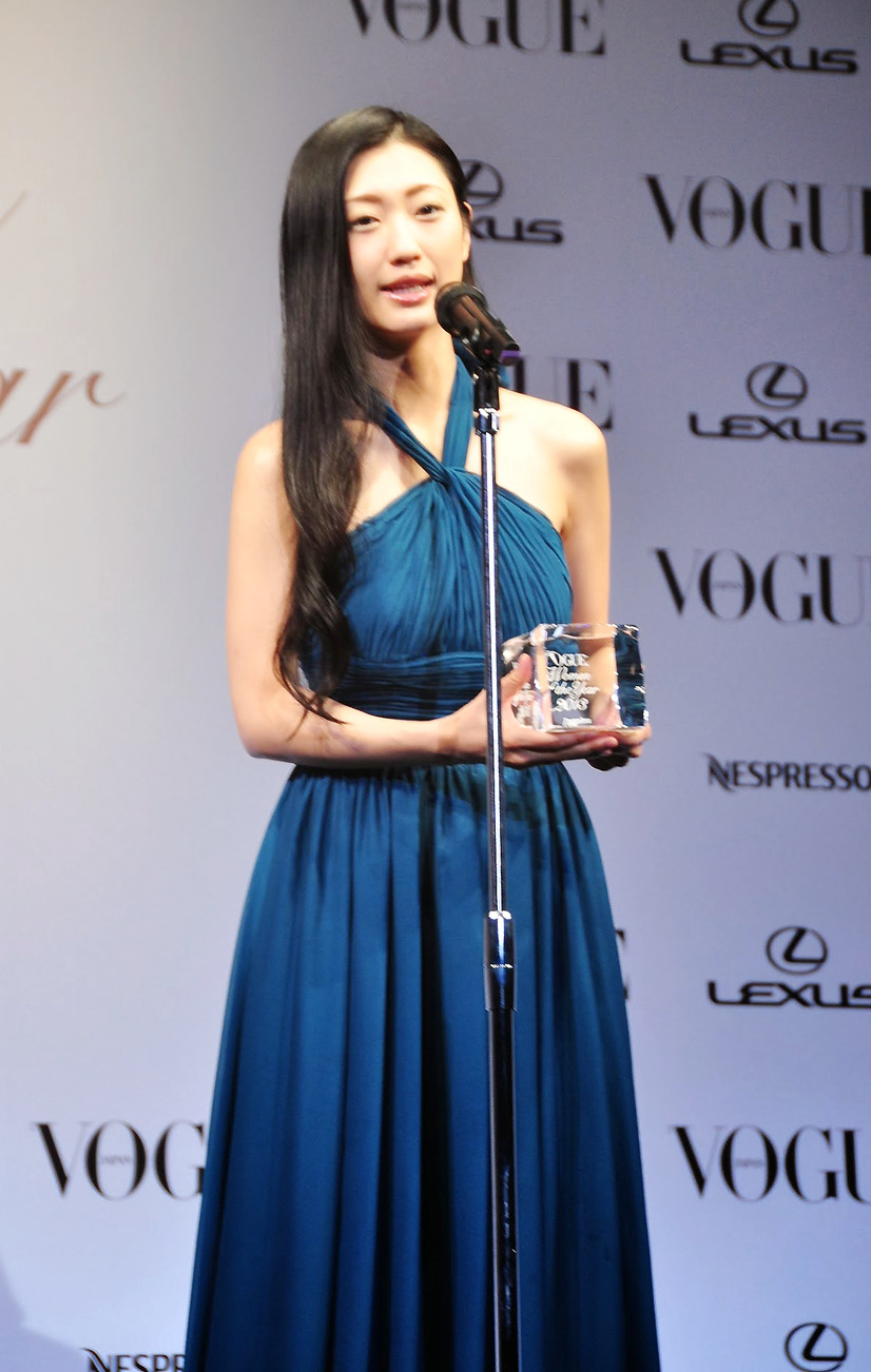 「VOGUE JAPAN Women of the Year 2013」授賞式(壇蜜)