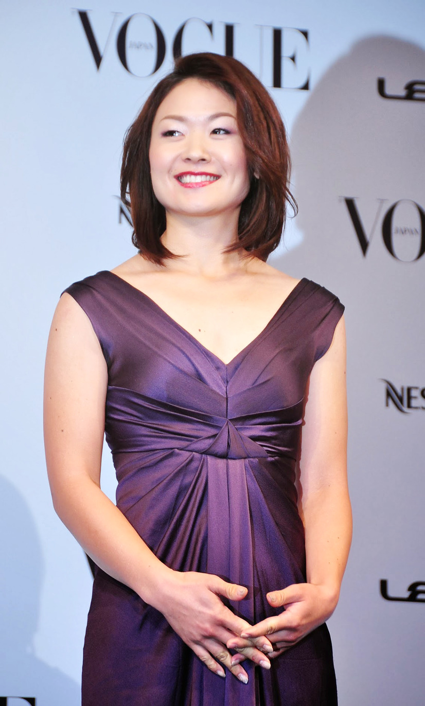 「VOGUE JAPAN Women of the Year 2013」授賞式(佐藤真海)