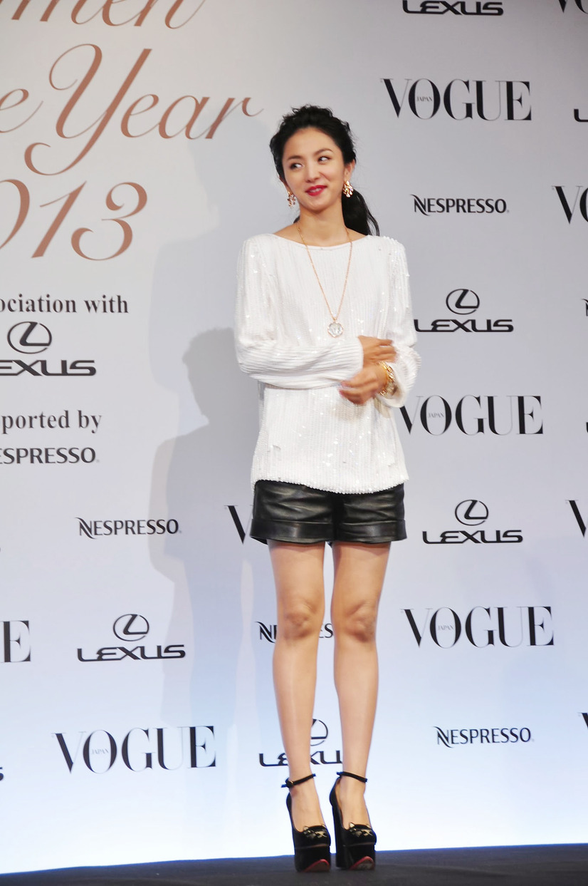 「VOGUE JAPAN Women of the Year 2013」授賞式(満島ひかり)