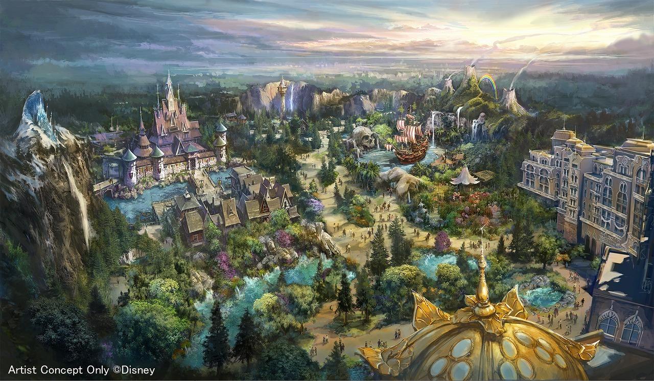 ディズニー】シー新ホテル、ラグジュアリータイプは全客室でパークの景観