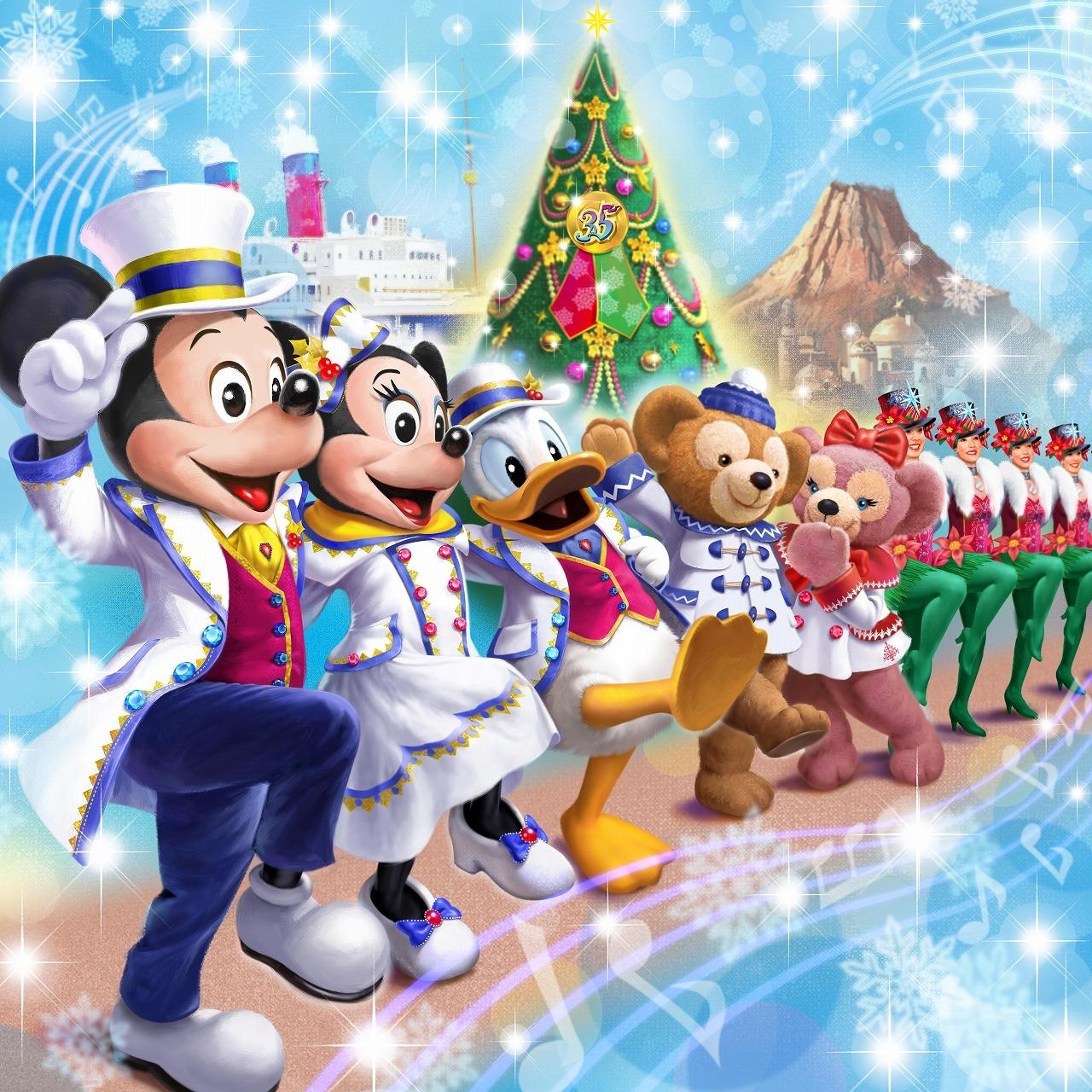 ディズニー】 新ハーバーショーも登場!35周年のクリスマス、詳細発表