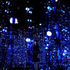 チームラボの「teamLab Exhibition, Walk through the Crystal Universe」が銀座で開催
