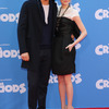 『The Croods』ニューヨーク・プレミア、ライアン・レイノルズとエマ・ストーン-(C) Getty Images