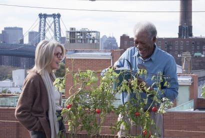 モーガン・フリーマン&ダイアナ・キートン初共演!『ニューヨーク眺めのいい部屋売ります』 画像