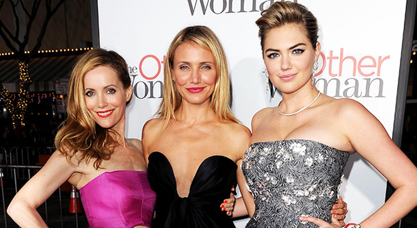 『The Other Woman』レスリー・マン&キャメロン・ディアス&ケイト・アプトン-(C) Getty Images