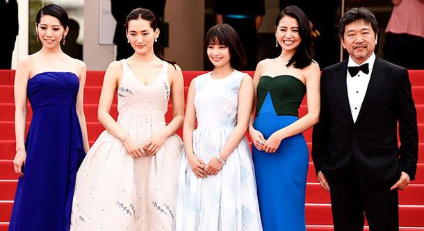 カンヌ国際映画祭】『海街diary』四姉妹、揃ってレッドカーペットに ...