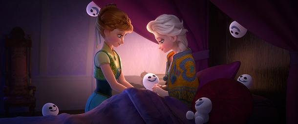 仲良しアナと雪の女王