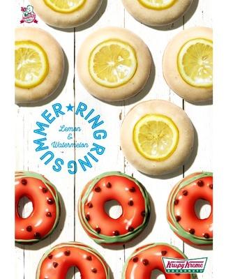 【3時のおやつ】夏にぴったり!「クリスピー・クリーム・ドーナツ」のフルーツドーナツ