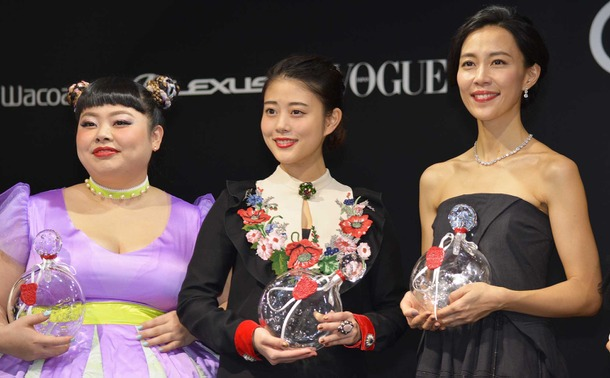 「VOGUE Women of the Year」授賞式