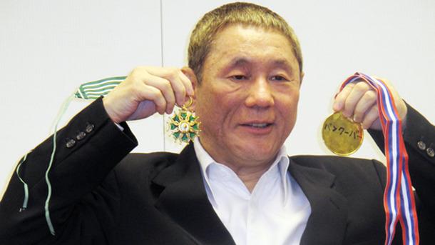 たけし帰国会見 仏芸術文化勲章最高章は「黒澤さんが貰ったやつ、すげ ...