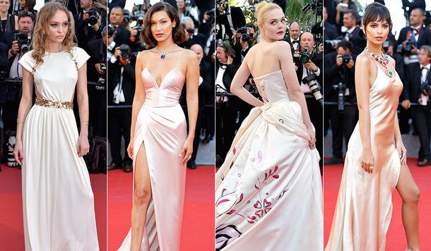 カンヌ国際映画祭が開幕!美しいドレスでセレブが華を添える