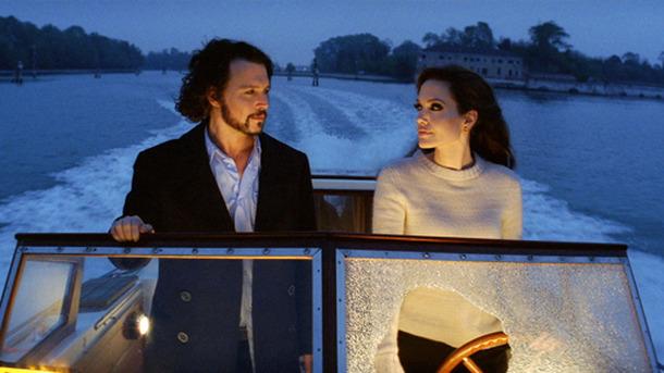 ジョニー&アンジーが顔を見合わせ爆笑! 『ツーリスト』貴重なNG映像が到着 | cinemacafe.net