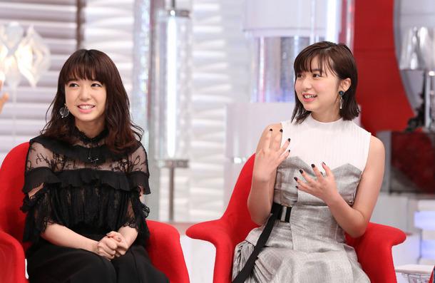 上白石萌音&萌歌姉妹「おしゃれイズム」 (C) NTV