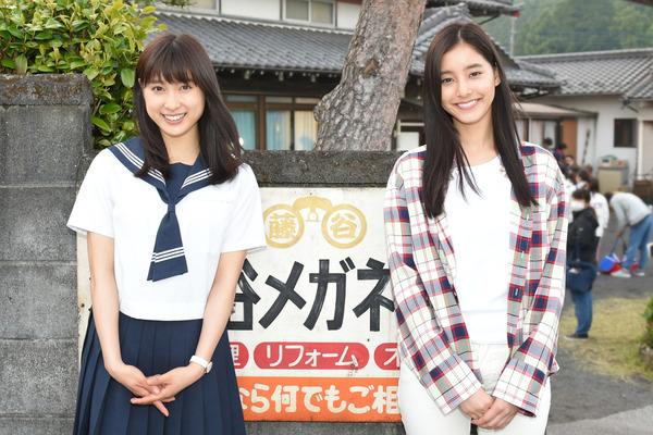 土屋太鳳さんと新木優子さん