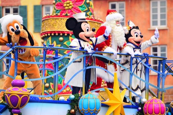 ディズニーゴージャスで本格的なクリスマスが来た初開催ショー