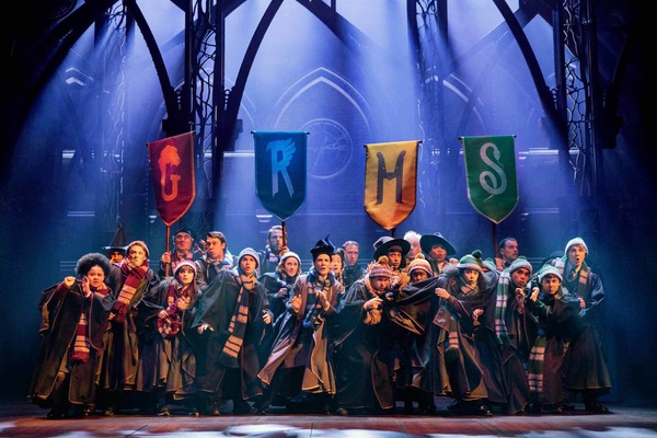 The Australian company of Harry Potter and the Cursed Child. Photo Matt Murphy.