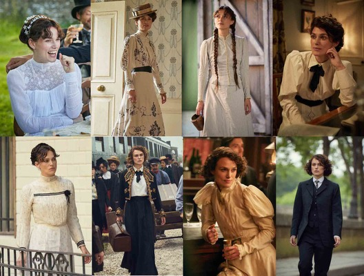 キーラ・ナイトレイ、古き良き華やかなパリのファッション