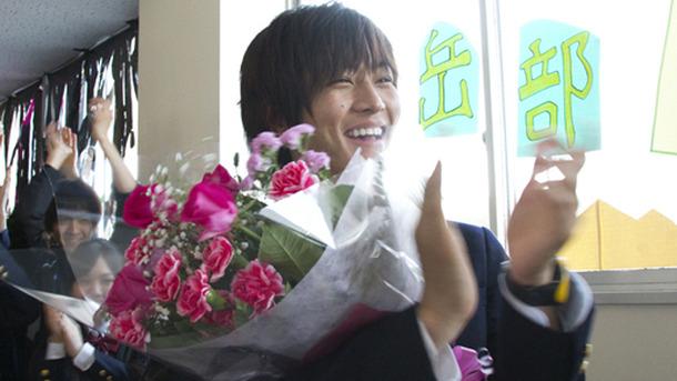 『アントキノイノチ』クランクアップを迎えた松坂桃李