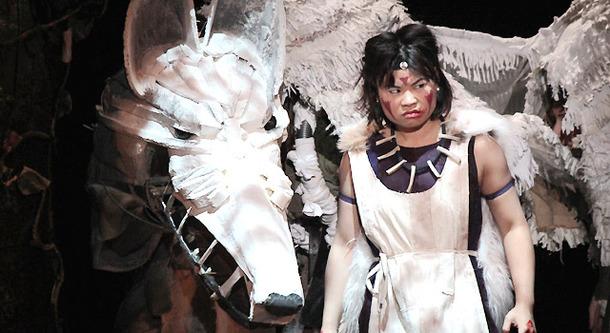 舞台「Princess MONONOKE~もののけ姫~」ゲネプロ風景