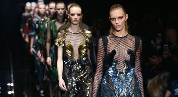 「グッチ」ファッションショー ,(C) Getty Images