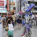 『トランスフォーマー』渋谷ジャックの様子