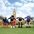 「Shaun IN THE CITY UK Trails」 (C) and TM Aardman Animations Ltd 2015.