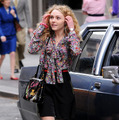 「The Carrie Diaries」(原題)撮影中のアナソフィア・ロブ -(C) Broadimage/AFLO