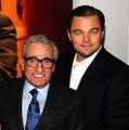 スコセッシ監督(向かって左)とディカプリオ Getty Images