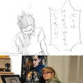 佐藤秀峰先生&漫画1コマ(ラフ)-(c) 2013 Summit Entertainment, LLC. All Rights Reserved.