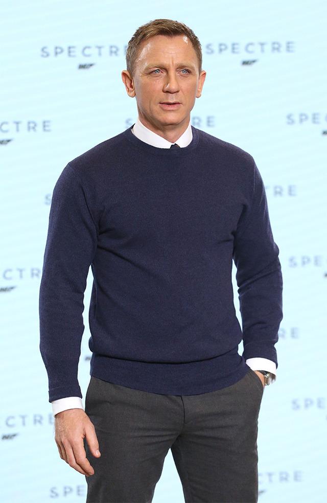 ダニエル・クレイグ、『007』最新作からの収入は72億円!? 2枚目 ...
