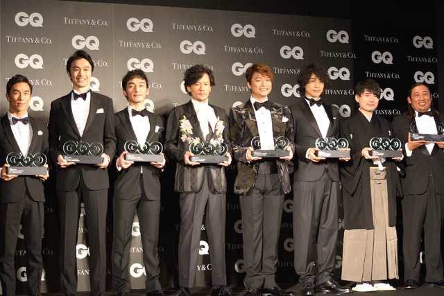 「GQ MEN OF THE YEAR 2017」