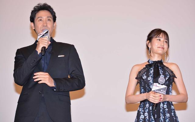 大泉洋&前田敦子/「大泉洋映画祭」初日舞台挨拶