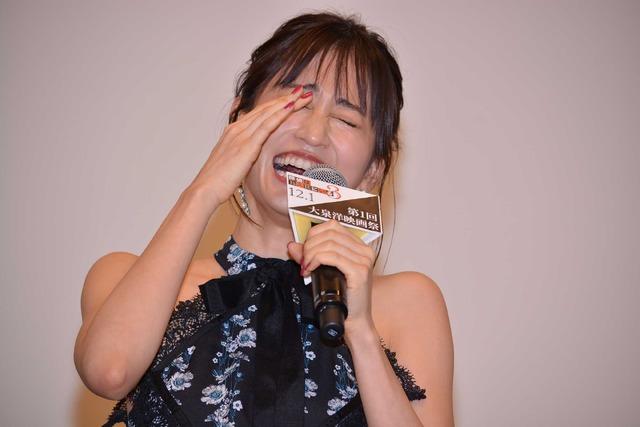 前田敦子/「大泉洋映画祭」初日舞台挨拶