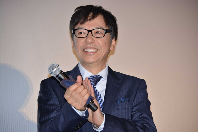 板尾創路監督/『火花』初日舞台挨拶