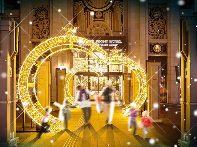 エントランス「ザ パーク フロント ホテル アット ユニバーサル・スタジオ・ジャパン」
