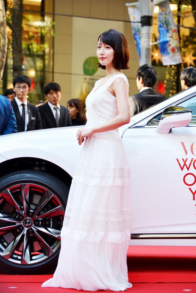 吉岡里帆/「VOGUE JAPAN WOMEN OF THE YEAR 2017」の授賞式・記者会見