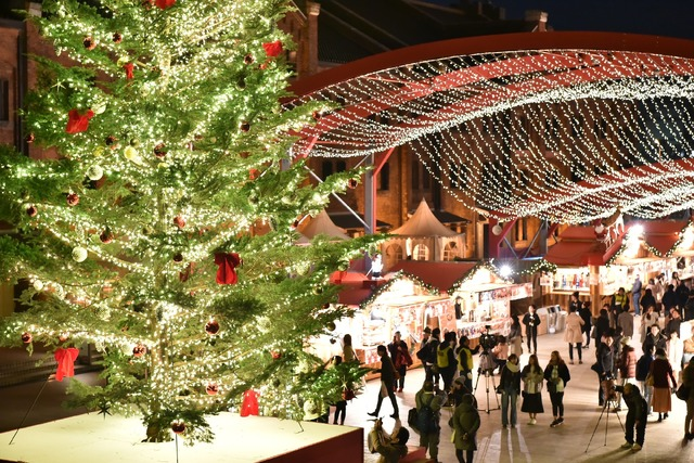 クリスマスマーケットin赤レンガ倉庫 ライトアップセレモニー