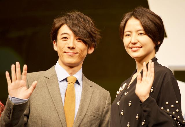 長澤まさみ&高橋一生/『嘘を愛する女』完成披露舞台挨拶