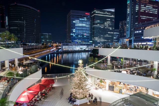 """「横浜ベイクォーター」""""クリスマスヴィレッジ"""""""