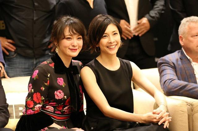 貫地谷しほり&竹内結子/HBOアジア25周年の記者会見