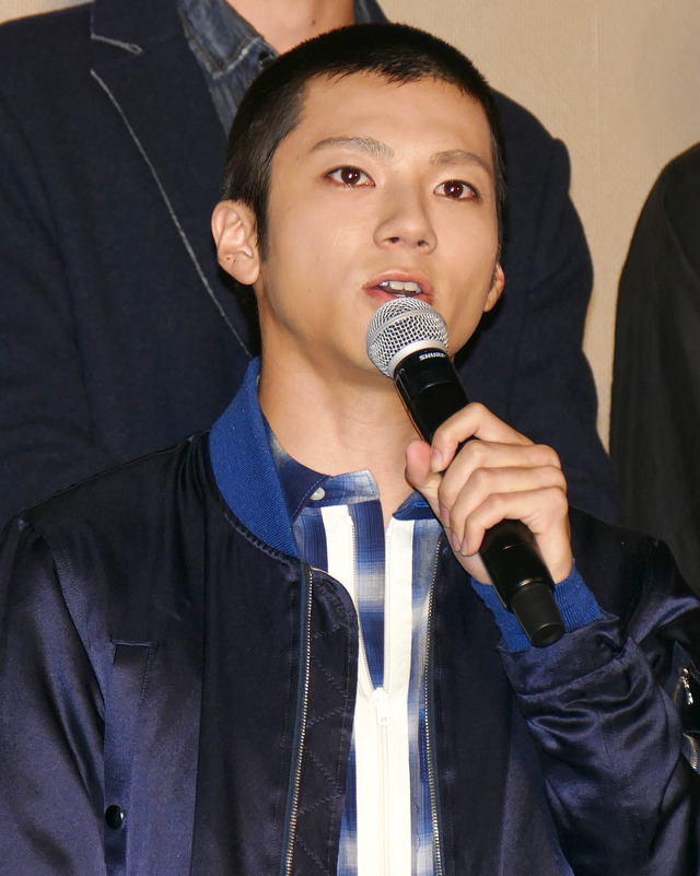 "山田裕貴/『HiGH&LOW THE MOVIE 3/FINAL MISSION』""第2弾""完成披露試写会"