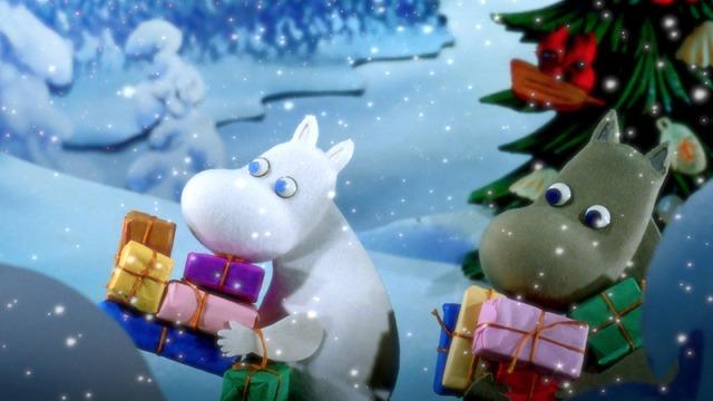 『ムーミン谷とウィンターワンダーランド』(C)Filmkompaniet / Animoon  Moomin Characters (TM)