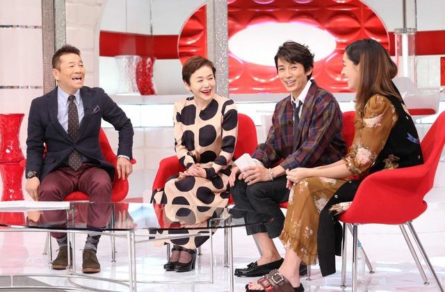 大竹しのぶ「おしゃれイズム」-(C)NTV